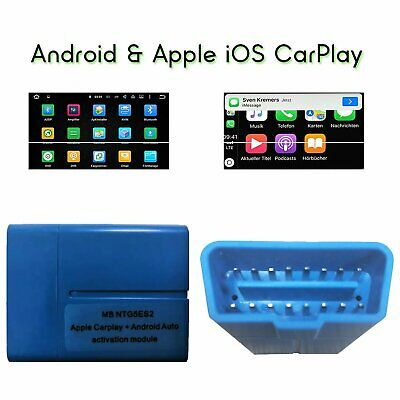 USA APPLE CARPLAY and Android Auto activation tool Mercedes