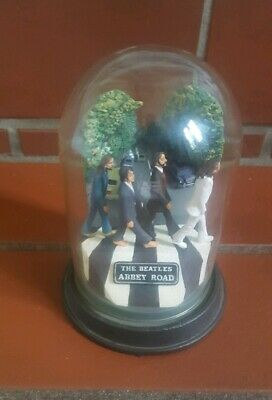 The Beatles Abbey Road Franklin Mint Glass Domed Music Box