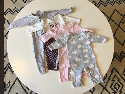 Baby Girl Wondersuit One piece Jumpsuit Size 000 (0-3 months) 4 Items Total