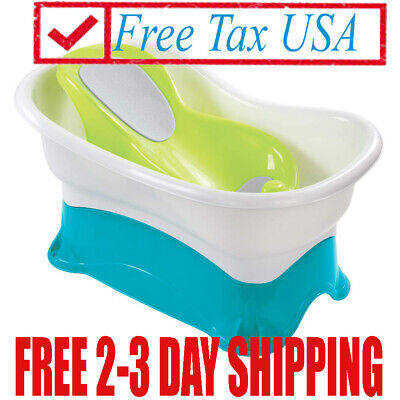 NEW !!! Summer Infant Comfort Height Bath Tub, Easily And Convenient...