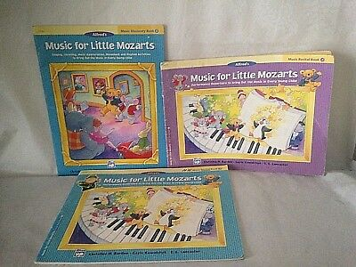 Music for Little Mozarts: 3 Books Music Discovery Book 3 & 4