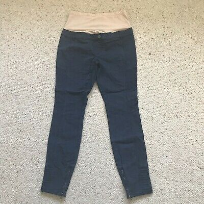 Jeanswest Maternity Crop Pants Jean Size 8/ Navy Blue