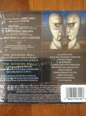 OOP Pink Floyd The Division Bell 20th Anniversary Ltd DVD 5.1 Mch Factory Sealed