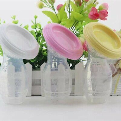 Women Mom Breast-feeding Pump Baby Feeding Milk Saver Collector Bottle Silicone