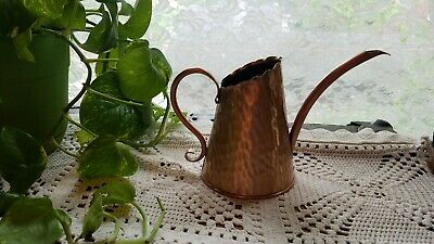 Hammered GREGORIAN Solid Copper Watering Can Pitcher