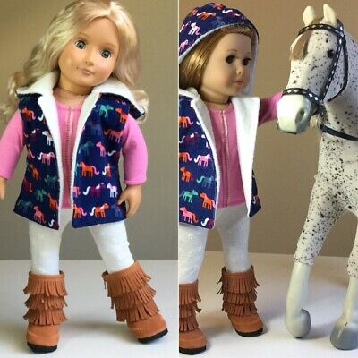 """Fit American Girl And Our Generation. Complete Set ONLY. 18"""" Doll Clothes."""