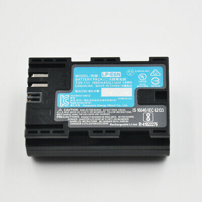 NEW Battery For Canon LP-E6N Battery EOS 60D 80D 5DMark III 5D II 70D 7D Mark II
