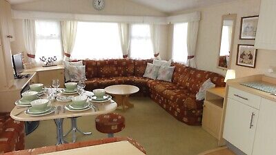 Static Caravan 8 berth sited on Greenfields Holiday Park, West Wales
