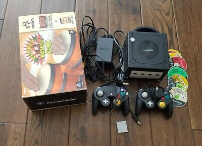 Nintendo GAMECUBE and games bundle - with bongos