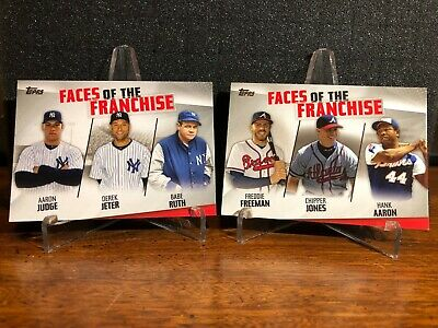 2019 Topps Series 2 FACES OF THE FRANCHISE YOU PICK Finish Set BUY 2 GET 1 FREE