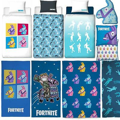 Fortnite Bedding Battle Royale Duvets Towel Cushions Blankets - Sold Separately