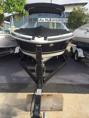 2005 Four Winns 210 Bowrider 5.0 MPI on Dual Axle Trailer (No Reserve)