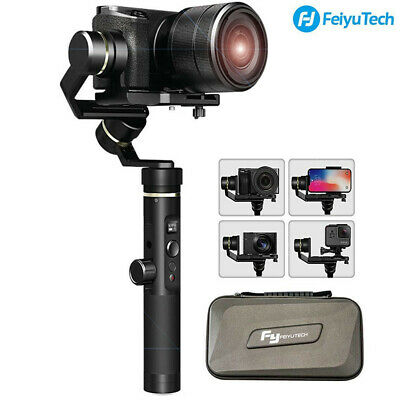 Feiyu G6 PLUS 3-Axis Action Camera Handheld Gimbal for GoPro Hero 7 6 5 Sony RX0