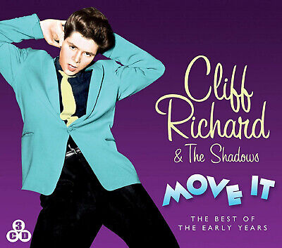Cliff Richard & The Shadows - Move It - The Best Of  3 CD SET - BRAND NEW SEALED