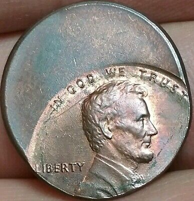 Mint error President Abraham Lincoln 1 cent United States of America #ac306