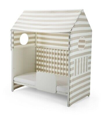 Stokke Home Bed Tent Beige Stripes *RRP £109.99* *NOW £49.99* SAVE £60