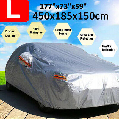 Car Cover Waterproof Outdoor Dust Rain Protector For Peugeot 308 307 Hatchaback