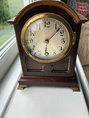 Winterhalder & Hofmeier Mantel clock in working condition
