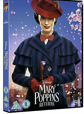 Mary Poppins Returns DVD Brand New Sealed Region 2 Fast & Free Postage