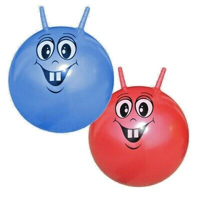 Large Retro Space Hopper Play Ball Toy Kids Skippy Childrens Fun Game 46Cm/18""
