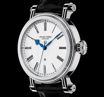 "Speake-Marin PICCADILLY ""Resilience"" Men's Watch Enamel Dial"