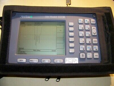 Anritsu S113B Site Master 5-1200MHz new Battery,Charger used s/case Fully Tested