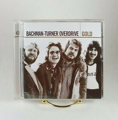 Bachman Turner Overdrive Gold CD 2 Disk Set 2005 Mercury NO DISK SCRATCHES
