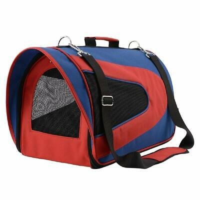 Pet Travel Carrier Airline Approved Oxford Fabric Foldable Cat & Puppy Carry Bag