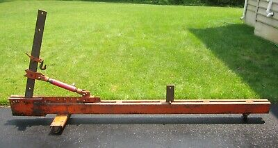 10 Ton Auto Body Frame Repair Straightener With Crane Swivel Post 2 Air Pumps Telesto Gr