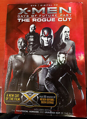 Brand New X-Men: Days of Future Past THE ROGUE CUT (DVD,2014)