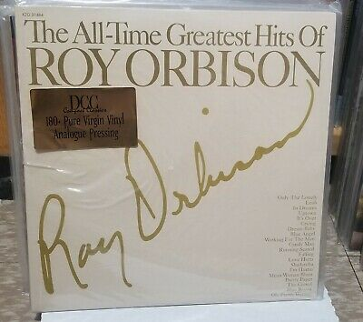 DCC Roy Orbison---Greatest Hits  Audiophile 2's x LP ** SEALED # 0571 **