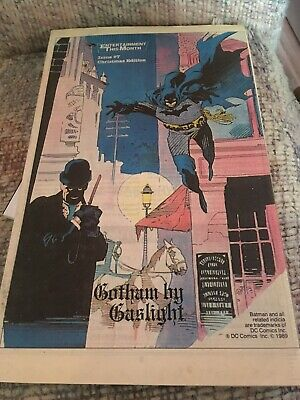 Entertainment This Month Catalig #7 Batman Gotham By Gaslight 1989 American
