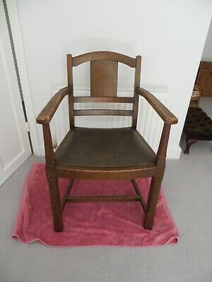 1940s carver dining chair