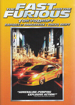 The Fast And The Furious - Tokyo Drift (Bilingual) (Orange Spine) (Dvd)