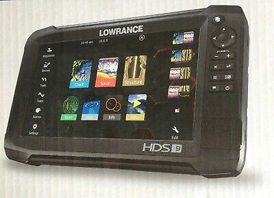 Lowrance HDS 9 Carbon Fishfinder Chartplotter with CMAP US ENHANCED MAPS