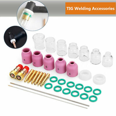 TIG welding kit For Tig WP17 18 26 36pcs Accessory Electrode Clamp Slot joint