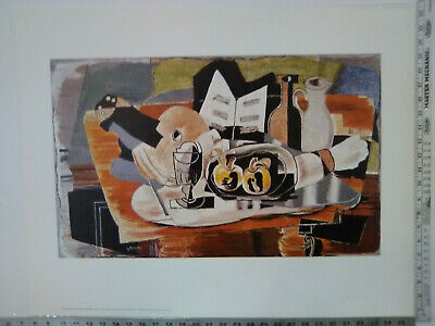 "Vintage Georges Braque - The Table - Shorewood Fine Art NM 22.5"" x 28.5"""
