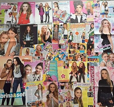 Sabrina Carpenter ❤️ Girls Meets World ❤️ Int. Sammlung 70+ ❤️ Poster Lot