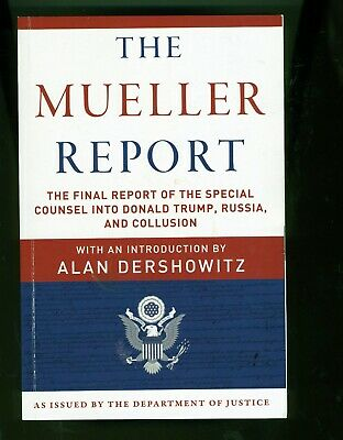 The Mueller Report  Final Special Counsel Edition (Like New)