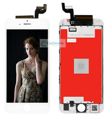 "For iPhone 6S LCD Glass 4.7"" Touch Screen Digitizer Display White Assembly DL03"