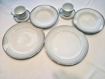 Incredible Charter Club Grand Buffet Platinum 8 Dinner Plates Set Complete Home Design Collection Epsylindsey Bellcom