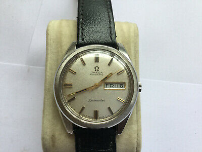 Rare Dial Vintage S/S  Omega Seamaster Mans Watch No Reserve