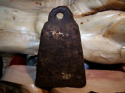 Vintage Antique 1 3/4 lb Cast Iron Old Pyramid Duck - Goose Decoy Weight