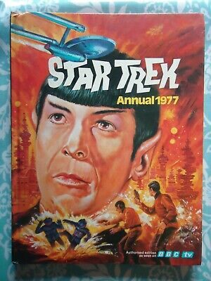 Star Trek Annual 1977 Good Condition Hardback Book