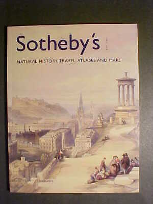 Sotheby 5/12/05  travel MAPS atlases, natural history