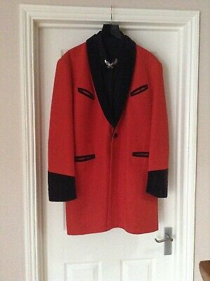 Mens Teddy Boy Drape Jacket / Coat. Rock & Roll