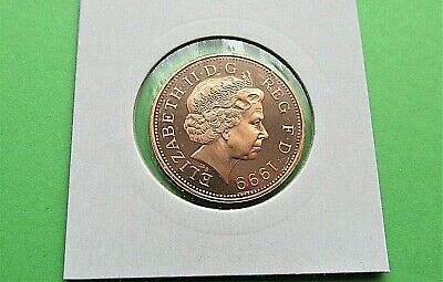 1999 Proof 2p Two Pence Coin  - From Royal Mint Set FREE P&P (KK19)