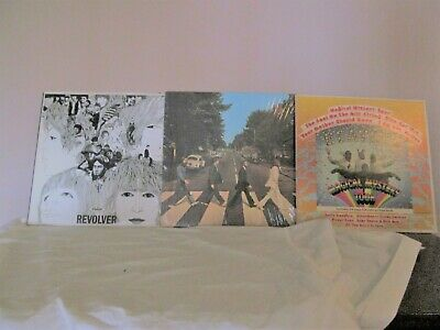 The Beatles Lp Lot [ Abbey Road Apple * Revolver*Magical Mystery Tour] Top Value