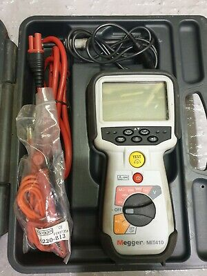 Megger MIT410 Insulation Tester, great condition