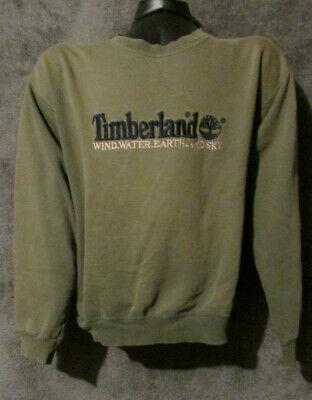 the latest 41411 6d117 VTG 90s Timberland Spellout Distressed Crewneck Pullover Sweatshirt XL  Vintage